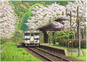 松本忠 画 「春、永遠に」