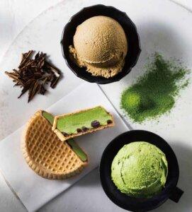 〈辻利〉宇治茶 アイスクリーム