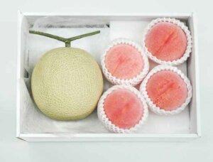 メロンと桃のセット
