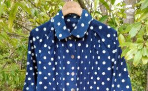 〈華彩工房〉藍染・柿渋染を纏う創作衣料展