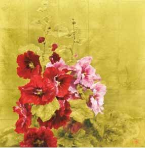 小倉亜矢子日本画展「立つやこの色」
