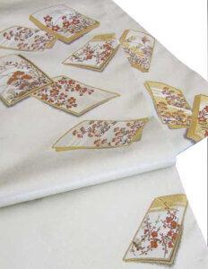引箔(ひきはく)袋帯